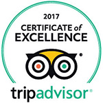 Alaturka restaurant Ipswich Trip Advisor Certificate of Excellence 2017