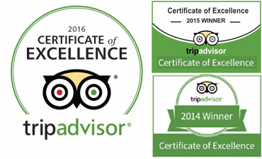 trip advisor certification excellence ipswich